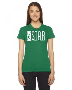 star lab2 Ladies Fitted T-Shirt