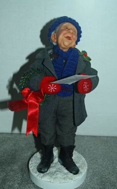 Richard Simmons Uncle Warren The Caroler Nana's Family Artist Annie Wahl | eBay