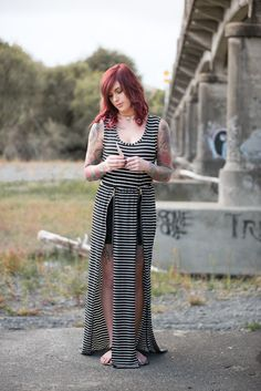 Striped Maxi Dress from NZ Fashion Boutique http://www.lonelybones.boutique/product/game-changer/