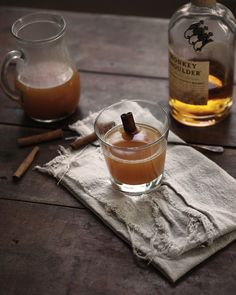 Smoky Scotch + Cider Cocktail — a Better Happier St. Sebastian