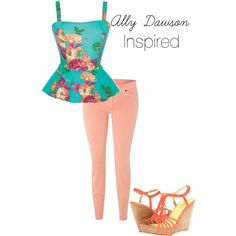 Ally Dawson inspired outfit.  I think I've actually seen her wear this on the show!