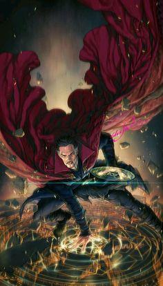 "Dr Strange ""Strange World"" Doctor Strange .°° by marci Bd Comics, Marvel Comics Art, Marvel Heroes, Marvel Avengers, Marvel Characters, Marvel Movies, Comic Movies, Marvel Universe, Doctor Stranger"