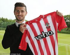 Saint Shane: Long has signed a £12million deal with Southampton after leaving Hull...