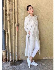 Women's kurtis online: Buy stylish long & short kurtis from top brands like BIBA, W & more. Explore latest styles of A-line, straight & anarkali kurtas. Indian Fashion Dresses, Dress Indian Style, Indian Designer Outfits, Muslim Fashion, Pakistani Dresses, Designer Dresses, Fashion Outfits, Bollywood Outfits, Bollywood Fashion