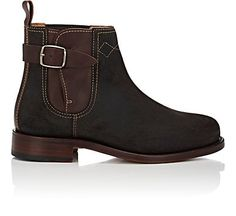 We Adore: The Oiled Suede Chelsea Boots from Cartujano Espana at Barneys New York