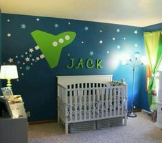 Space room- wall color