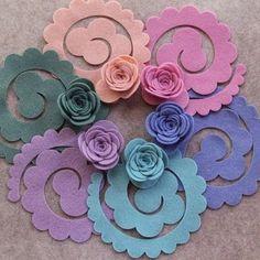 Large English Roses // Loose Felt Flowers // Unattached Felt Flowers // DIY Flowers // Flower Embellishments // Set of 3 // You Pick Colors Felt Diy, Felt Crafts, Diy And Crafts, Paper Crafts, Paper Toys, Diy Paper, Fabric Crafts, Paper Flowers Diy, Handmade Flowers