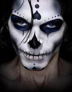 хэллоуинский макияж череп: 11 тыс изображений найдено в Яндекс.Картинках