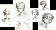 rise of the guardians concept art jack - Google Search