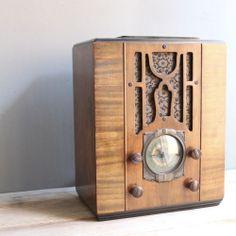 Antique Silvertone Radio 1936 Restored Excellent Condition | eBay