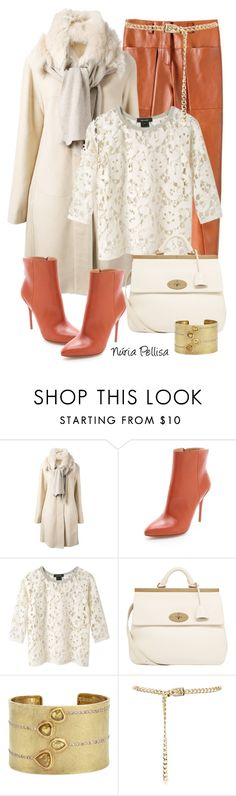 """""""Winter"""" by nuria-pellisa-salvado ❤ liked on Polyvore featuring Giorgio Armani, Maison Margiela, Isabel Marant, Mulberry, Todd Reed, WorkWear, Winter and leatherpants"""