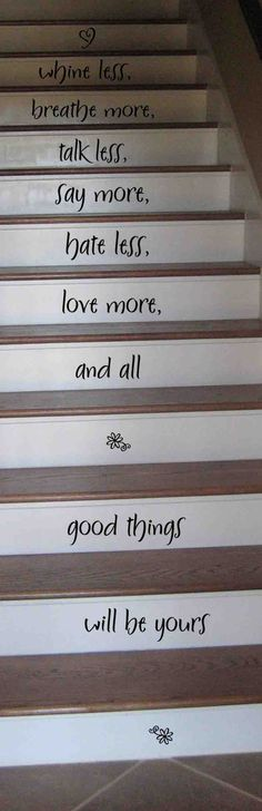 I love these wall words. <3