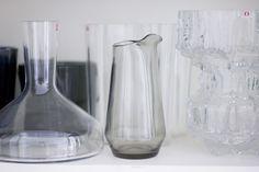 Iittala glassware. Via Kettukarkki.