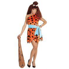 #Disfraz de #Picapiedra #Troglodita para mujer