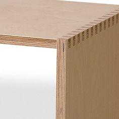 Offi Birch Plywood Storage Bench