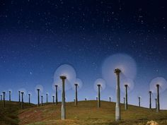 Wind Turbines, California