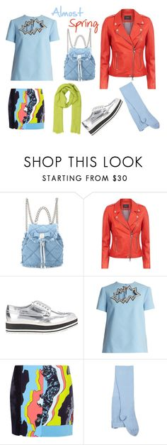 """""""Almost Spring"""" by amwilson29 ❤ liked on Polyvore featuring Salvatore Ferragamo, SET, Prada, Christopher Kane, Versace, Sternlein and Hermès"""