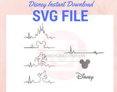 Customizable SVG Disney Characters | Mickey and Minnie for INSTANT DOWNLOAD! When purchasing this SVG file(s) from TiredGirlCompany, you are promised: -Organized Zip File Folders -High Quality Images, Watermark Free -SVG Files perfect for ALL Vinyl cutting machines ______________________________________________________________________________________________ INSTANT DOWNLOAD for your at-home convenience! This purchase is a ***DIGITAL*** product, therefore no physical product will be sent ...