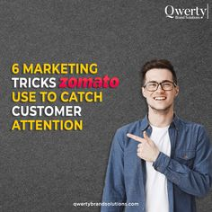 """""""Who doesn't know Zomato? Almost everyone, even your baby 😉. What made them popular among their audience and over the internet? The obvious answer is their MARKETING STRATEGY, specifically digital marketing. Swipe left to see their most popular strategies. . #digitalmarketing #successful #successstory #casestudy #Zomatostudy Top Digital Marketing Companies, Online Marketing, Professional Website, Customer Experience, Lead Generation, Web Development, Case Study, Success, Internet"""