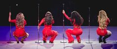 Fifth Harmony on stage last night #SARodeo