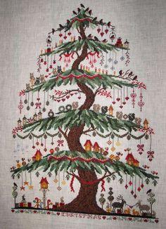 Christmas Tree de Claudine modèle Renato Parolin