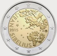 Country: Finland Mintage year: 2015 Issue date: Face value: 2 euro Diameter: mm Weight: g Alloy: Bimetal: CuNi, nordic gold Quality: Proof, BU, UNC Mintage: pc UNC pc proof Design: Nora Tapper
