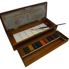 Near Mint Watercolour / Artist Box by Charles Roberson c.1860