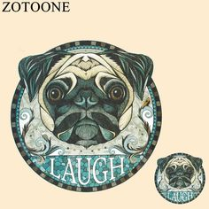 Cheap iron on, Buy Quality iron on transfers directly from China dog iron Suppliers: ZOTOONE Dog Iron On Transfers Stickers For T Shirt Applique Hot Heat Vinyl Thermal Transfers Clothes Fabric Decoration DIY Badge