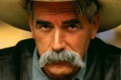 Sam Elliott gives new meaning to the words 'moustache ride' just sayin. Moustaches, Cowgirls, Katharine Ross, Mustache Men, Moustache Ride, Sam Elliott, Cowboy Up, Cowboy Humor, The Big Lebowski