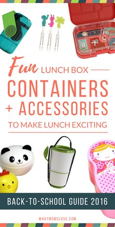 Make your kids' back-to-school lunches fun and exciting with these cool bento boxes, snack containers, water bottles, utensils, sandwich cutters and other rad accessories and tools. Yep, that's right, we said it: exciting. Check out all of these great ideas for packing your kids' lunch box plus our other Back-to-School guides including the Hottest Big Kid Backpacks, Everything Your Preschooler Needs In Just The Right Size & The Coolest Lunch Bags.