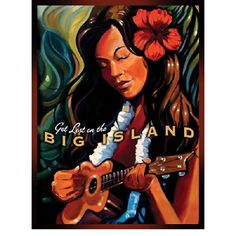 Big Island Metal Sign Surfing and Tropical Decor Wall Accent -- Click on the image for additional details.