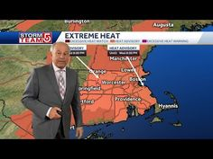 Video: Boston on brink of third heat wave of season - YouTube Heat Team, Heat Index, Tuesday Afternoon, Extreme Heat, East Coast, Boston, Third, Environment, Waves