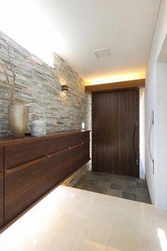Ideas For Double Entry Door Decor Entrance Foyer Design, Entrance Design, Front Door Design, Home Room Design, House Design, Apartment Entrance, Home Entrance Decor, Entrance Foyer, House Entrance