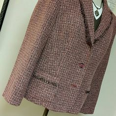 NortonMcNaughton Jacket Tweedy look with fringe accents. Fully lined in polyester. Acrylic, poly, rayon blends. Office or casual paired with denim shirt skinny jeans and boots! Excellent used condition. nortonmcnaughton Jackets & Coats Blazers