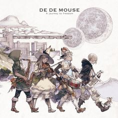 DE DE MOUSE meets Final Fantasy, gets illustrated for new album   SparkPlugged