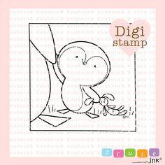 Este sello Digital es de un lindo pingüino que podría ser su padre o madres mano!  Poco amor de pingüino es mi ilustración original (c) Tinta Linda Heidi Arrowood 2   ¿LO QUE PUEDEN SER DIGITAL SELLOS USADOS PARA? --------------------------------------------------------------------------------------------- Mis sellos digitales son mano dibujada de negro y blanco línea de arte que se puede utilizar para hacer tarjeta, etiquetas de regalo, bordado a mano, invitaciones, Stickers, decoración de…