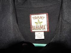 Tommy Bahama 100% silk shirt size mens M, Charcoal, Long sleeve,button front #TommyBahama #ButtonFront