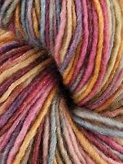 DK & Light Worsted Weight Yarn - Manos del Uruguay Silk Blend Wildflowers