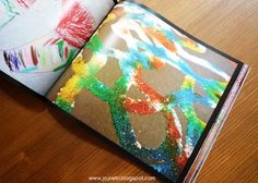 Child Art Portfolio Book- a great way to keep all that amazing artwork your kid churns out without having to build an extension to your home!