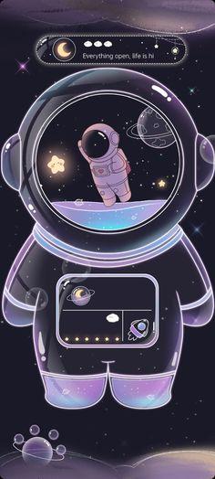 Cartoon Wallpaper Iphone, Anime Scenery Wallpaper, Cute Wallpaper Backgrounds, Pretty Wallpapers, Aesthetic Iphone Wallpaper, Disney Wallpaper, Galaxy Wallpaper, Cute Panda Wallpaper, Cute Pastel Wallpaper