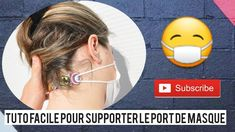 TUTO facile  rapide : Astuce pour supporter le port de masque ! COVID-19 / By Popo - YouTube Ellie And Mac Patterns, Mascara Tutorial, Youtube Sewing, Youtube Hacks, Coin Couture, Art Projects For Teens, Creation Couture, Sewing Hacks, Sewing Tips
