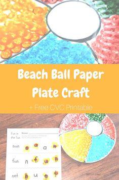 Beach Ball CVC Print