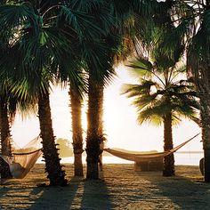 A romantic beach near Todos Santos Inn, Baja, Mexico.