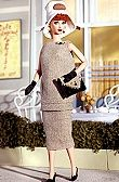 """Lucy Ricardo played by Lucille Ball from the TV show """"I Love Lucy"""". Barbie I, Vintage Barbie Dolls, Barbie World, Barbie Clothes, Barbie Style, I Love Lucy Dolls, I Love Lucy Show, Lucille Ball, Barbie Celebrity"""