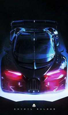 """(°!°) Khyzyl Saleem's vision of a Bugatti Veyron and Dark Vader,  """" B U G V A D E R"""""""