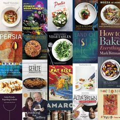 The 25 Most Exciting New Cookbooks for Fall 2016-- Because one can never have too many cookbooks!