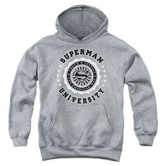 Superman: Superman University Youth Hoodie