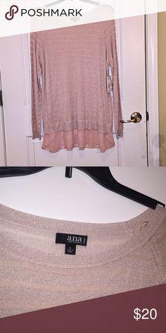 Spotted while shopping on Poshmark: NWT ANA tunic 1X with chiffon detail! #poshmark #fashion #shopping #style #Ana #Tops
