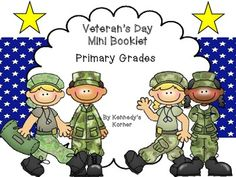 FREE Veteran's Day Mini booklet