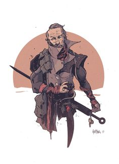 """zakhartong: """" Gurney Halleck - The Warmaster / Smuggler We'll looks like I will eventually design every character. After reading Children, I loved Gurney's character even more. """""""